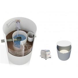 Oczyszczalnia biologiczna August ATC-P od 2 do 6 osób