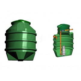 Studnia przepompowa - przepompownia PP 1100 - 1280