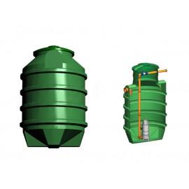 Studnia przepompowa - przepompownia PP 1100 - 1550