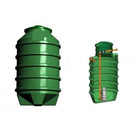 Studnia przepompowa - przepompownia PP 1100 - 1820