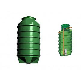Studnia przepompowa - przepompownia PP 1100 - 2090