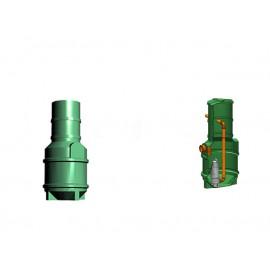 Studnia przepompowa - przepompownia PP 600-1395 240 litrów