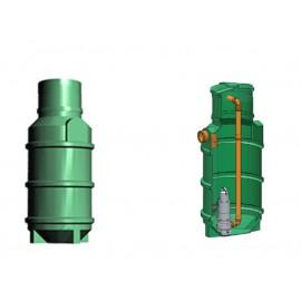 Studnia przepompowa - przepompownia PP 600-1485 290 litrów