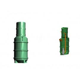 Studnia przepompowa - przepompownia PP 600-1755 340 litrów