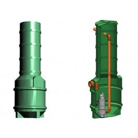 Studnia przepompowa - przepompownia PP 600-1860 340 litrów