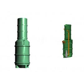 Studnia przepompowa - przepompownia PP 600-2025 390 litrów