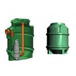 Studnia przepompowa - przepompownia PP 600-805 150 litrów