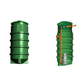 Studnia przepompowa - przepompownia PP 700 - 1550