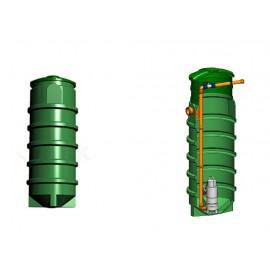 Studnia przepompowa - przepompownia PP 700 - 1820