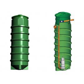 Studnia przepompowa - przepompownia PP 700 - 2090