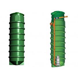 Studnia przepompowa - przepompownia PP 700 - 2360