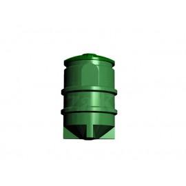 Separator tłuszczu z odmulaczem SZAKK SEPTO 0,5l/s