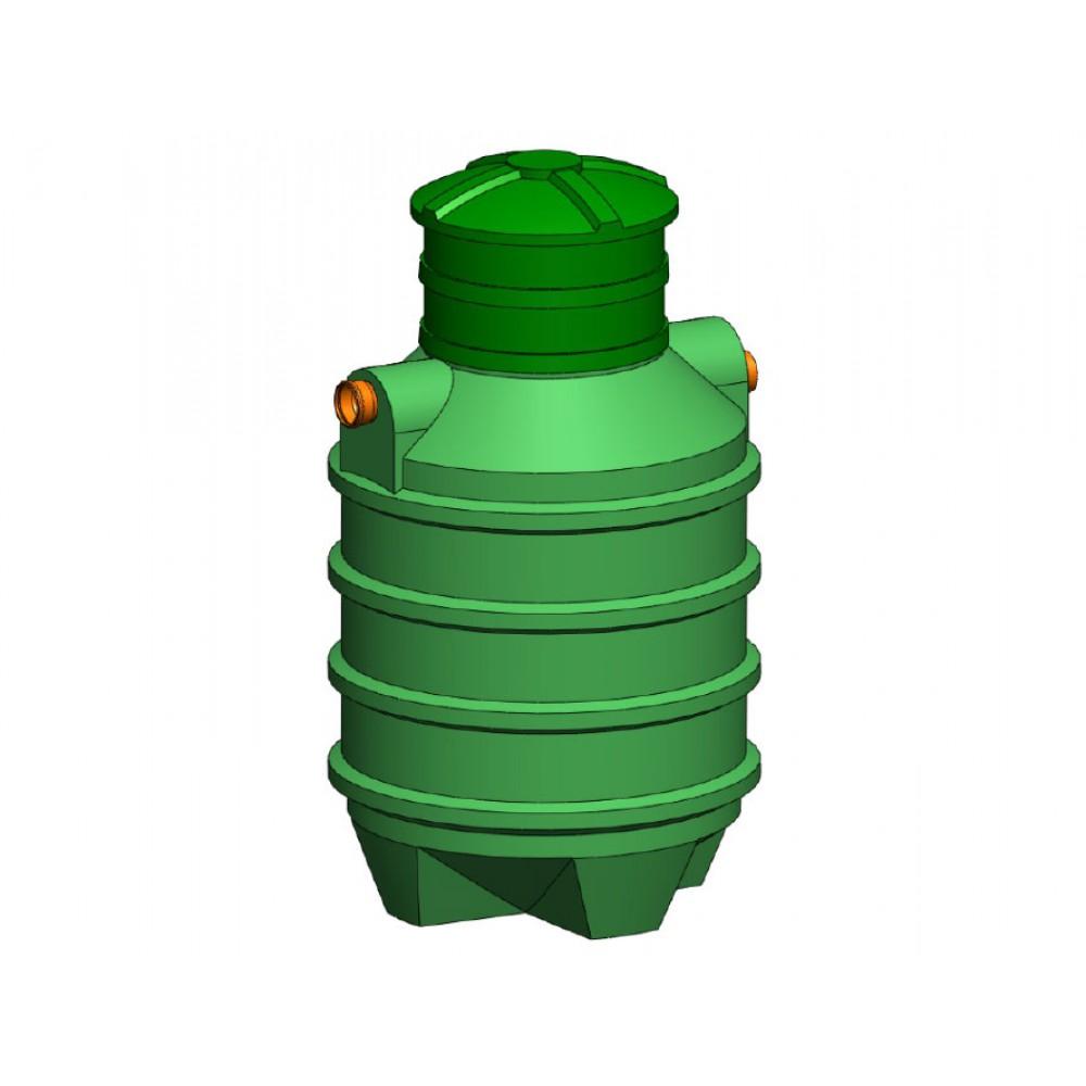 Separator tłuszczu z odmulaczem SZAKK SEPTO 3l/s